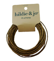 Darice 48# Hemp Cord-10yds/Natural, , hi-res