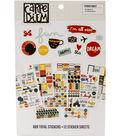 Carpe Diem Say Cheese III A5 Stickers