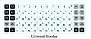 Cricut® Universal Keypad Overlay-, , hi-res