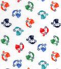 Nursery Flannel Fabric 42\u0022-Monkey