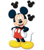 Disney Dimensional Stickers-Mickey, , hi-res