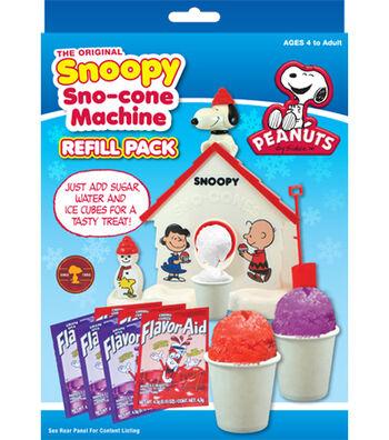 The Original Snoopy Sno-Cone Machine Refill Pack