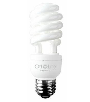 OttLite 15w Edison Based Swirl Bulb