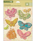 Studio 112 Candy Butterfly Dim Stickers