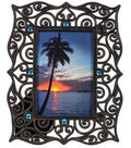 Ethnic Scroll with Jewels Frame 4x6