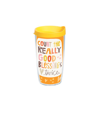 Tervis 16oz. Tumbler-Count The Really Good Blessings Twice