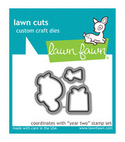 Lawn Fawn Lawn Cuts Custom Craft Die -Year Two, , hi-res