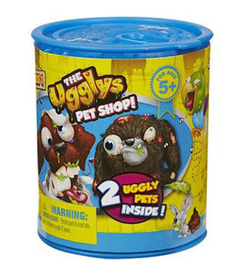The Ugglys Pet Shop Series 1 Mystery Pets Can 2 Pack