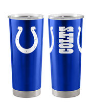 Indianapolis Colts 20 oz Insulated Stainless Steel Tumbler, , hi-res