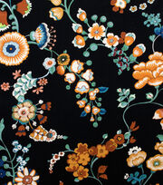 "Alexander Henry Cotton Fabric 44""-Speranza Black, , hi-res"