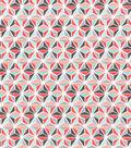 Snuggle Flannel Fabric 42\u0022-Geometric