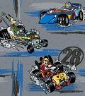Disney Mickey & Friends Cotton Fabric 43\u0027\u0027-Roadster