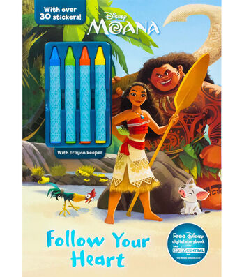 Parragon Disney® Moana Follow Your Heart Activity Book