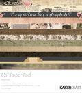 Kaisercraft Paper Pad 6.5\u0022X6.5\u0022-Keepsake
