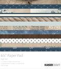 Kaisercraft Paper Pad 6.5\u0022X6.5\u0022-High Tide