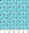 Keepsake Calico™ Cotton Fabric 43\u0022-Calico Floral Blue