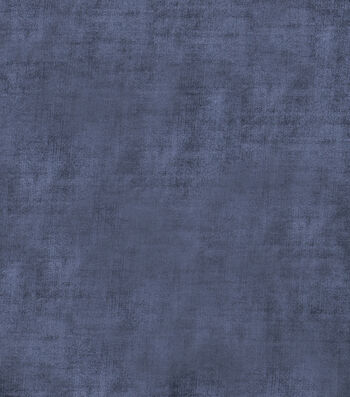 "Jaclyn Smith Upholstery Fabric 54""-Theater Velvet/Navy"