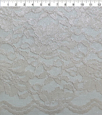 """Casa Collection™ Stretch Lace Fabric 54""""-Rosewater"""