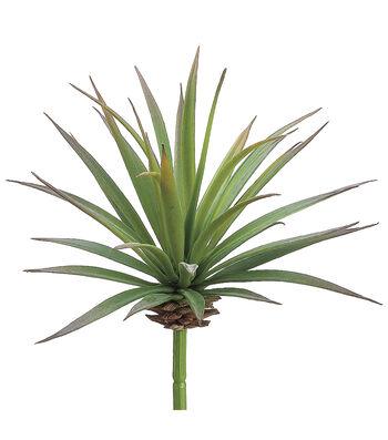 "6"" Yucca Pick Green Burgundy"