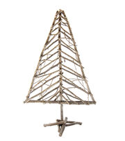Blooming Holiday Small Twig Tree-White Glitter, , hi-res