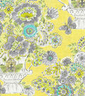 Dena Home Lightweight Decor Fabric 54\u0022-Blissful Bouquet/Lemon Meringue