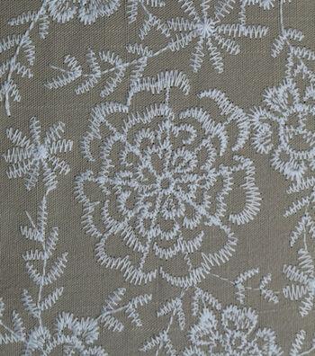 Amaretto Linen Fabric 57''-Taupe
