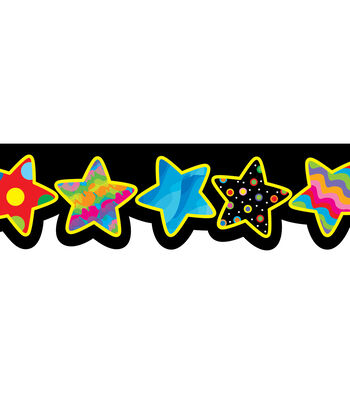 Poppin Patterns: Stars Border