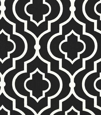"""Home Essentials Print Fabric 45""""-Dalgety Panorama Tuxedo"""