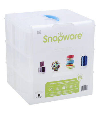 Snapware Snap N Stack 12 x 12 square with 3 layers