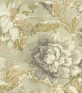 Waverly Multi-Purpose Decor Fabric 54\u0027\u0027-Silver Fresco Flourish