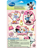 Disney® Dimensional Stickers-Mickey Family Girls, , hi-res