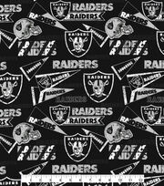 "Oakland Raiders Cotton Fabric 58""-Retro, , hi-res"