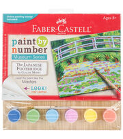 Faber-Castell® Museum Series Paint By Number-Japanese Footbridge, , hi-res
