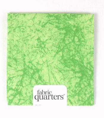 "Fabric Quarters Cotton Fabric 18""-Assorted Green"