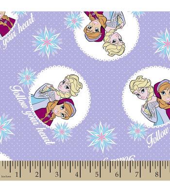 "Disney® Frozen Cotton Fabric 42""-Follow Your Heart"