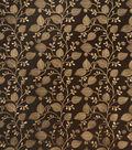 Home Decor 8\u0022x8\u0022 Fabric Swatch-SMC Designs Saddle / Espresso