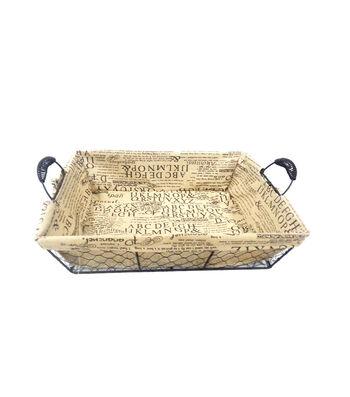 Organizing Essentials™ Wire Tray Basket