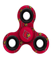 University of Louisville Cardinals Diztracto Spinnerz-Fidget Spinner, , hi-res