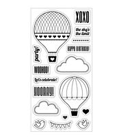 "Fiskars Clear Stamp 4""x8""-Up In The Air, , hi-res"