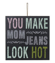 Escape To Paradise Wall Plaque-You Make Mom Jeans Look Hot, , hi-res