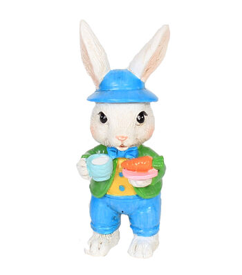 Easter Littles Resin Bunny with Carrot