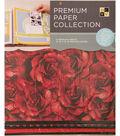 DCWV 12\u0022x12\u0022 set of 5 Premium Papers-Red Multipack Assortment