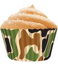 Cupcake Creations-Standard Baking Cups 32/Pk-Camo