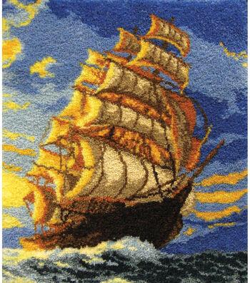 M C G Textiles Latch Hook Kit Clipper Ship