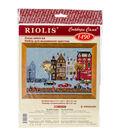 RIOLIS Counted Cross Stitch Kit 11.75\u0022X8.25\u0022-Cycle Lane