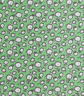 1930\u0027s Cotton Fabric 43\u0027\u0027-Mini Floral Sketch on Green