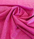 Casa Embellish Spring Stretch Knit Fabric 56\u0022-Metallic Fuchsia