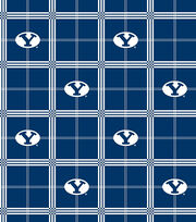Byu Plaid Flannel, , hi-res