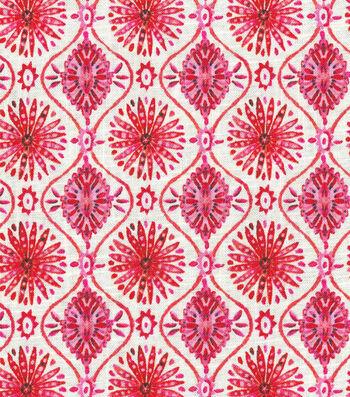 "Dena Upholstery Fabric 54""-Pinwheeling Candy Apple"
