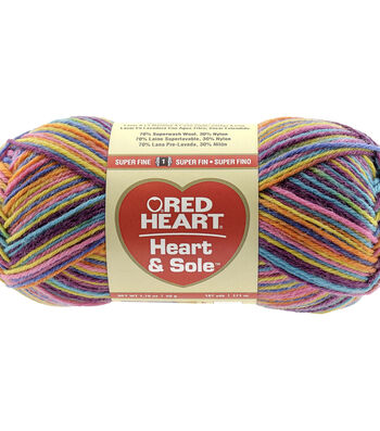 Jellybeans-yarn Heart & Sole